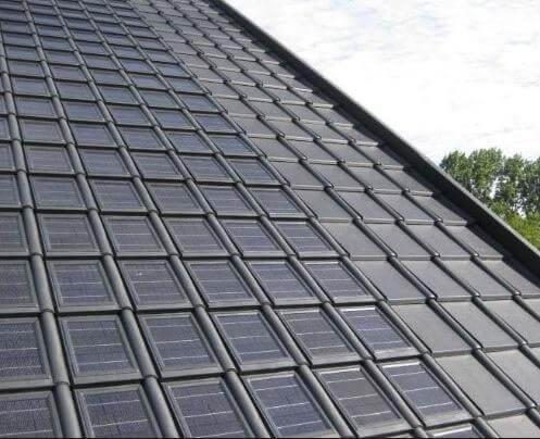 Dakpannen Met Zonnepanelen : Dakpan zonnepanelen zonnepaneel info